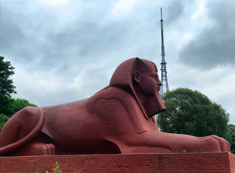Sphinx at Crystal Palace London