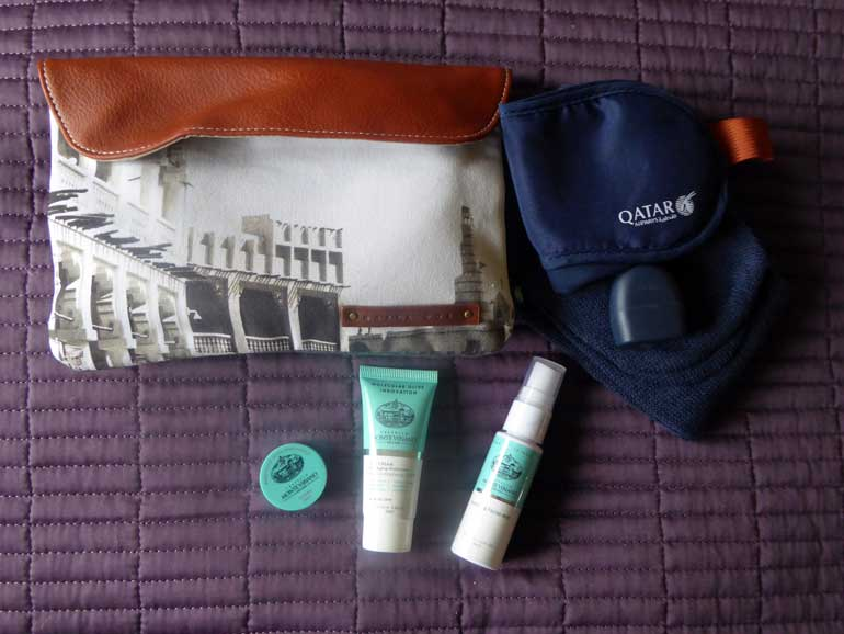 Qatar Airways QSUITE Business Class Amenity Kit
