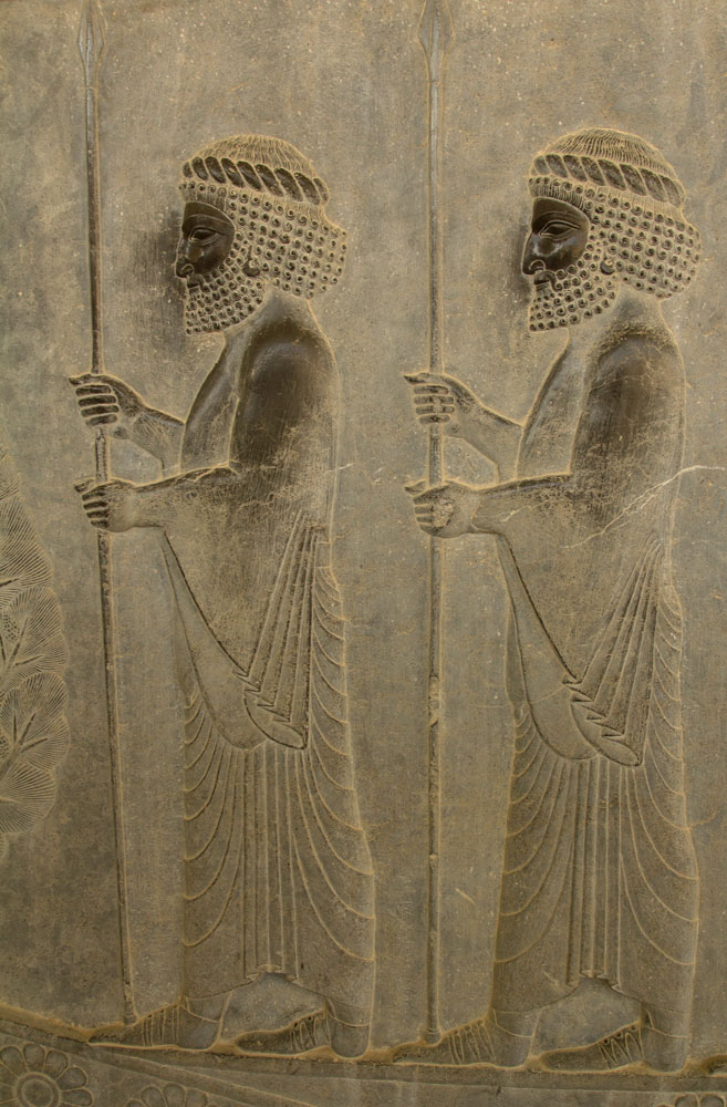 bas reliefs of 2 kings in Persepolis one of the best reasons to visit Iran