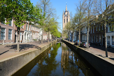 canal-in-delft-netherlands