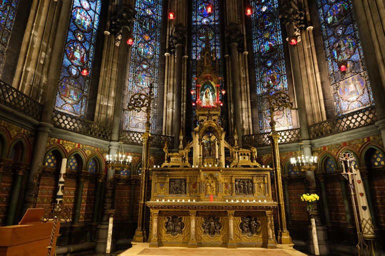 La Sainte Chapelle, Lille Cathedral