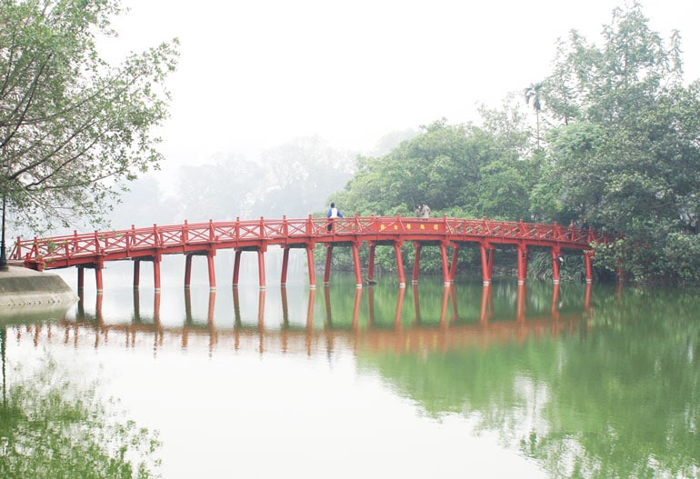 red-bridge-in-mist-in-hanoi-vietnam