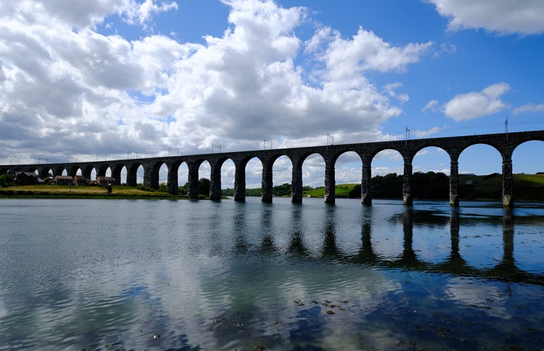 Royal Border Bridge which is on of the highlights of Berwick-upon-Tweed
