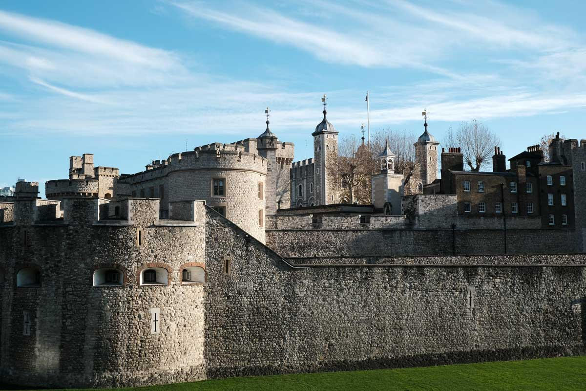 the tower of london exterior